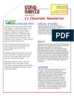 newsletter january 16 2015