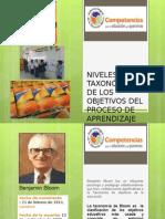 Niveles Taxonómicos de Los Contenidos de Aprendizaje