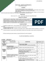 Curriculum Cls.a v A
