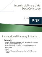 interdisciplinary thematic unit