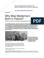 DUVE,Thierry. Why Was Modernism Born in France. Essays on TheAvantGarde &the Invention of Art-ArtForum-Pts 3-5