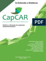 Material Complementar I Histórico e Evolução Da Legislação Ambiental Brasileira PDF