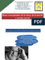 Bases Conceptuales de La Etica y La Moral.