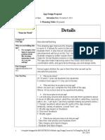 App Design Proposal
