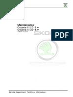 Maintenance Skoda Octavia 3