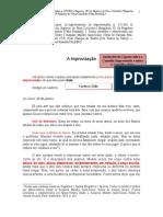 Copeau. a Improvisão. Registros III