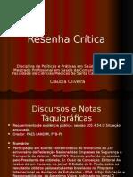 Resenha Crítica (1)