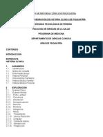 Guía Para La Elaboración de Historia Clínica de Psiquiatría