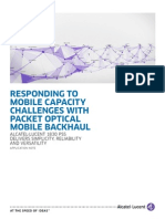Packet Optical Mobile Backhaul en AppNote