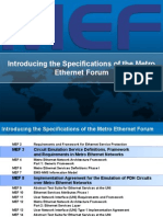 Overview of MEF 3 and 8