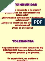 3 Conf Tolerancia y Autoinmunidad