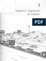 Ingeniería de Tránsito - Capítulo 3, Transporte e Ingeniería de Tránsito