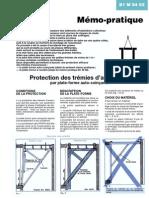 B1M0402 protection des trémies d'escaliers