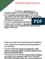 Leadership Theories 002 PPT
