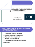 1. Obiectul de Studiu