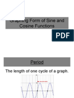 Graphing Form of Sine and Cosine Functions
