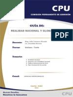 Realidad Nacional y Globalizacion Peru