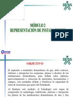 Representacion de Instalaciones Gas