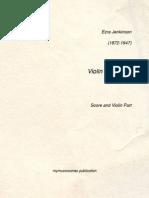 Jenkinson Elfentanz - Violin and Piano parts