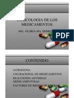 Intoxicaciones Medicamentosas