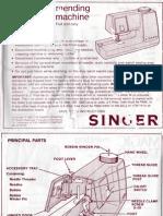 Singer Magic Tailor Manual