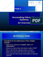 Account information system Romney 12th edition chapter 1