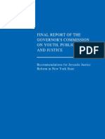 Report of Commission on Youth Public Safety and Justice