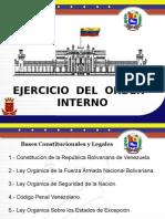 Ejercicios de Orden Interno (1)