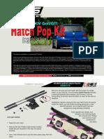 Vw Mkiv Hatch Pop Kit