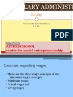 Wages Administrations & Management