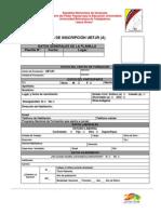 Planilla de Inscripcion UBTJR - 2014 (1)