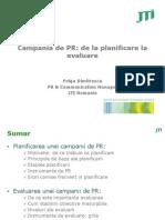 Campanii Pr Fulga Dimitrescu
