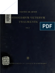 Stoicorum Veterum Fragmenta Vol. 1