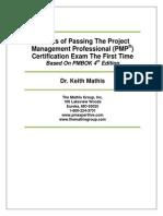 SecretsOfPassingThePMPCertification-2009finalv1
