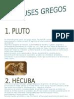 12 deuses gregos