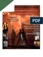 Curso de Investigacion de Incendio