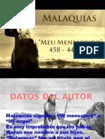 MALAQUIAS. 1.1-5 EL AMOR DE DIOS POR SU PUEBLO.
