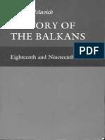 History of the Balkans Vol 1 Eighteenth and Nineteenth Centuries Barbara Jelavich