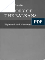 History of the Balkans Vol 1 Eighteenth and Nineteenth Centuries Barbara Jelavich