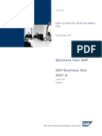 How to Use the PLD Variables File in Release 2007 a