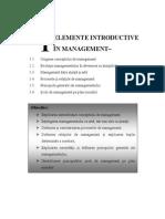 Conceptul de Management
