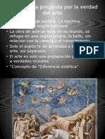 Arte y Filosofía, Gadamer La Verdad en El Arte