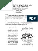 Componentes Auxiliares Del Sistema de Direccion