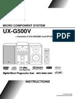 LG Uxg500v