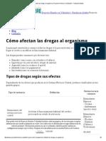 Cómo Afectan Las Drogas Al Organismo _ Proyecto Hombre en Valladolid - Fundación Aldaba
