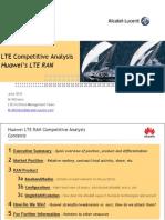 ALU Huawei LTE RAN Analysis