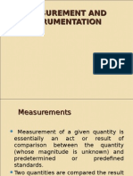 Measurements & instrumentation