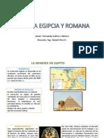 m. Egipcia y Romana
