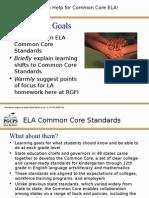 common core english language arts presentation jan 2015