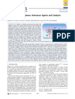 Organoiridium Complexes Anticancer Agents and Catalysts